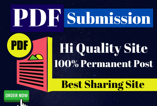 Best 32 PDF Submit for Perfect Link building Best sharing site permanent post