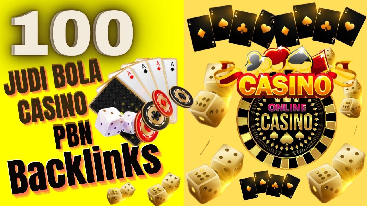 100 JUDI BOLA,  CASINO,  POKER,  GAMBLING,  PBNs Post Boost Website Ranking Highly Recommended
