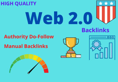 Manually Build 20 high Authority WEB2.0 Backlinks