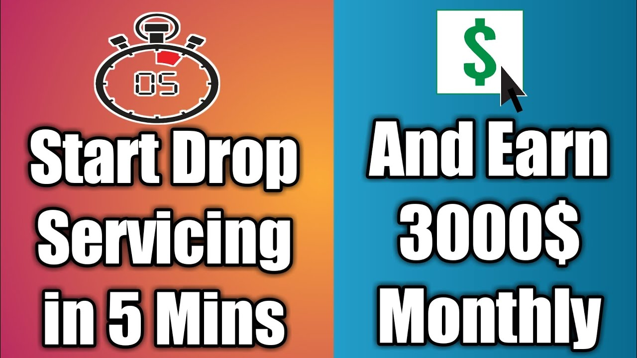 How to Start A Drop Servicing Bussines from Scratch in 2020 Earn 3000 USD per Month
