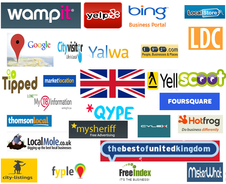 I will create 45 best UK local citations your website ranking