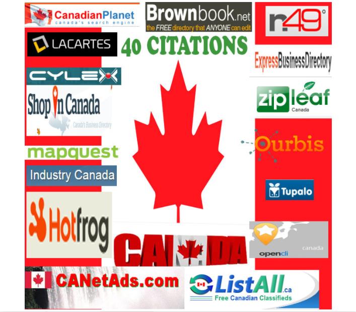 I will do 50 best canada local SEO citations