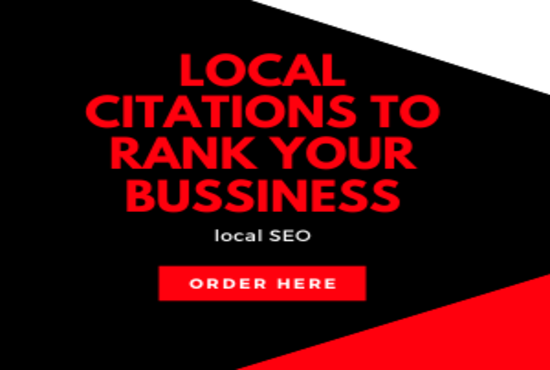 I will do 70 USA local citations to rank your local business