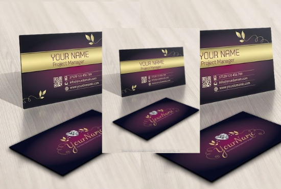 I will do professional business card design 12 hours