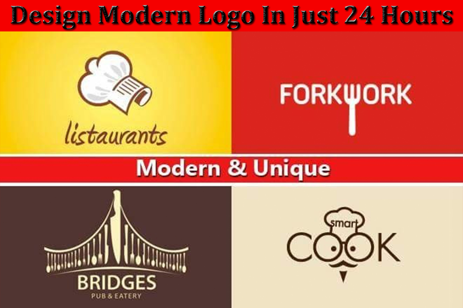 I will design logo for your business brand or blog