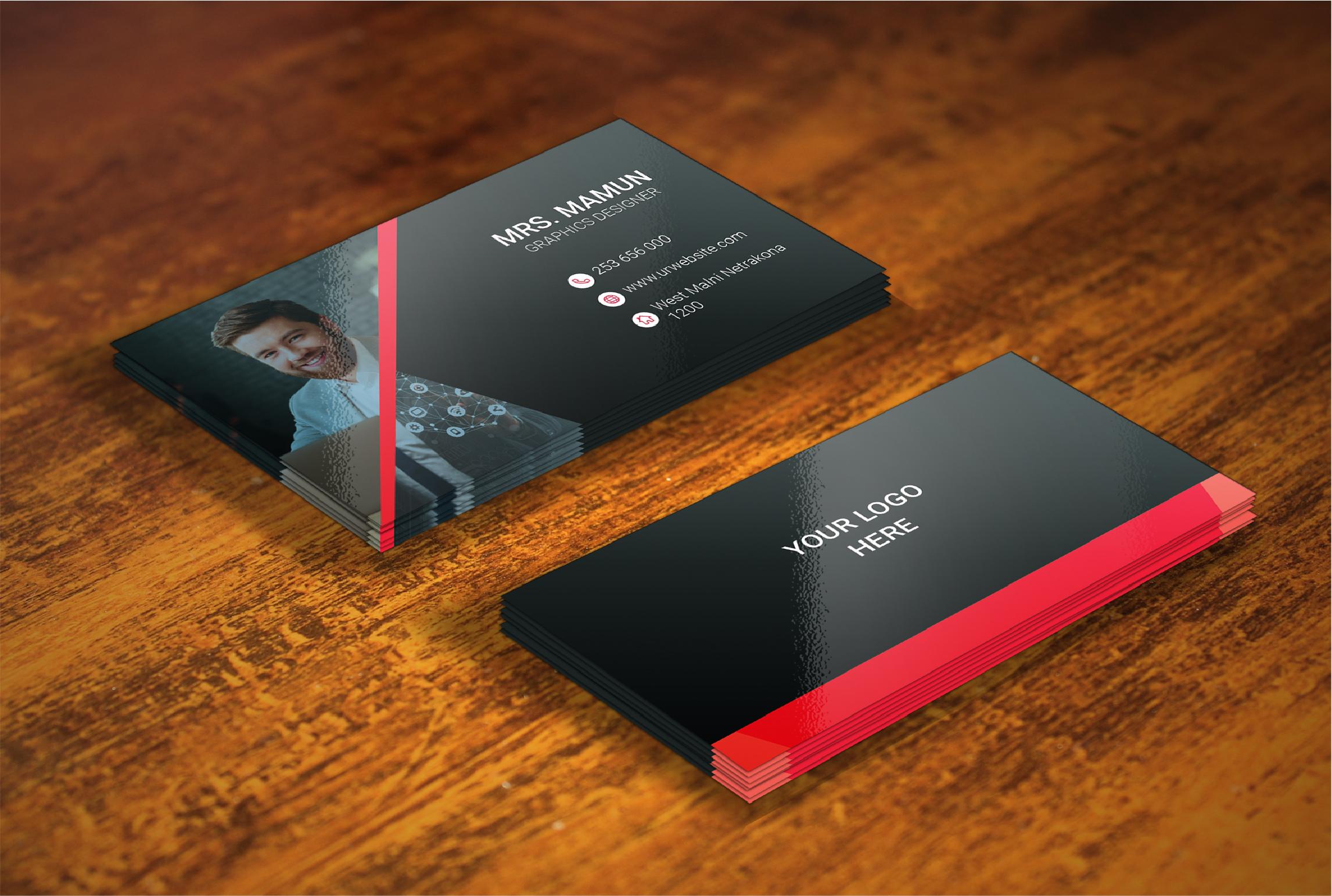 I will create creative business card design