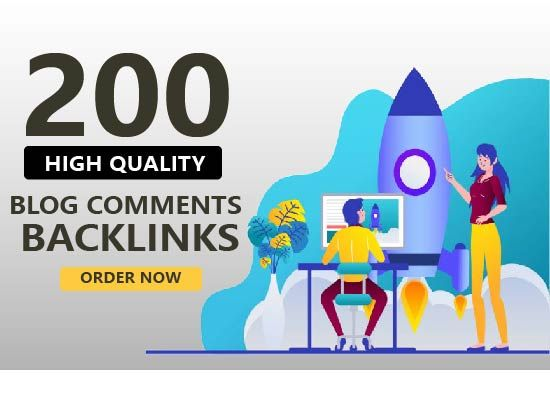 I will do 200 dofollow blog comments backlinks SEO high quality