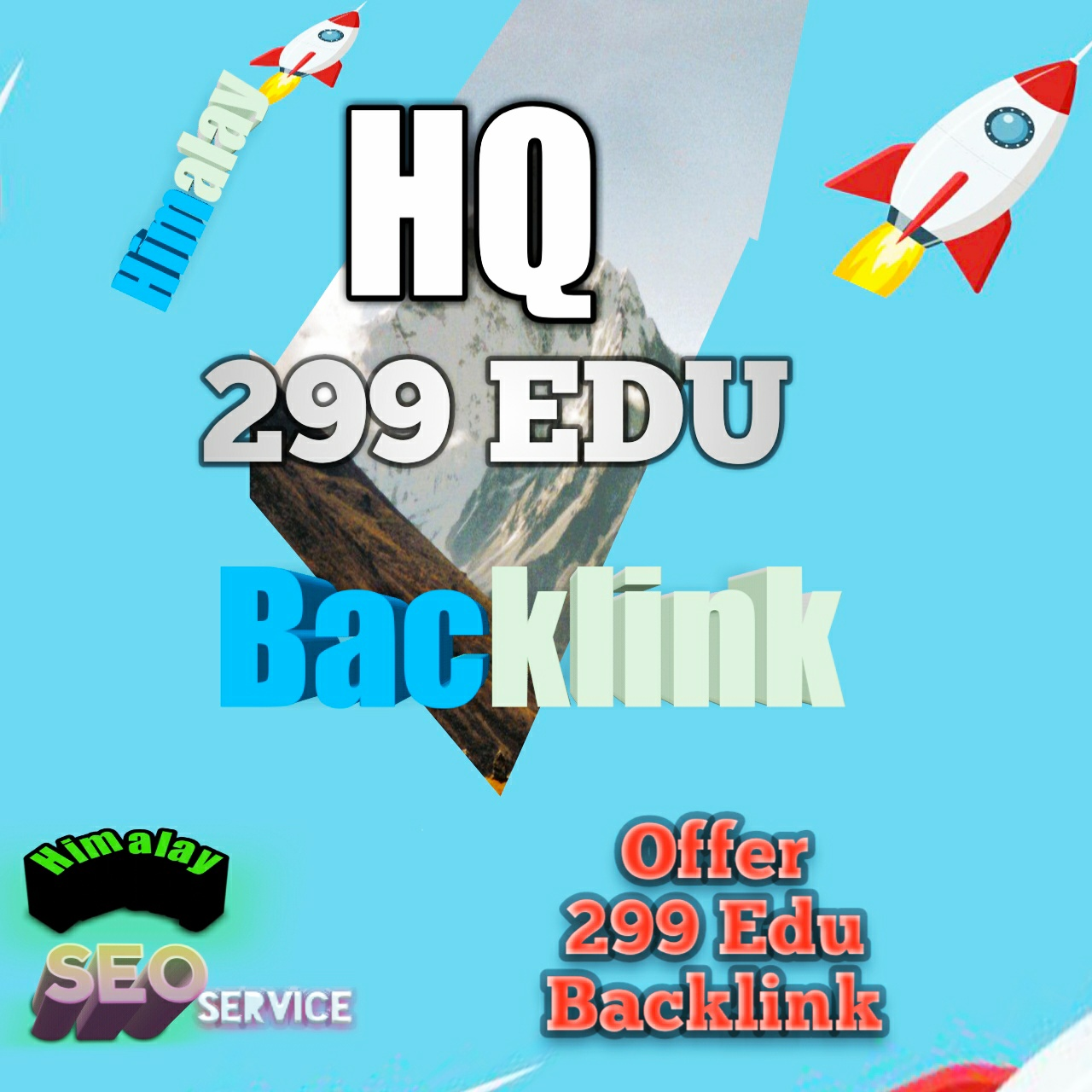 Now get most popular EDU Site 299 HQ Edu Backlink