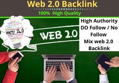 I will build 50 web 2.0 Backlinks for SEO