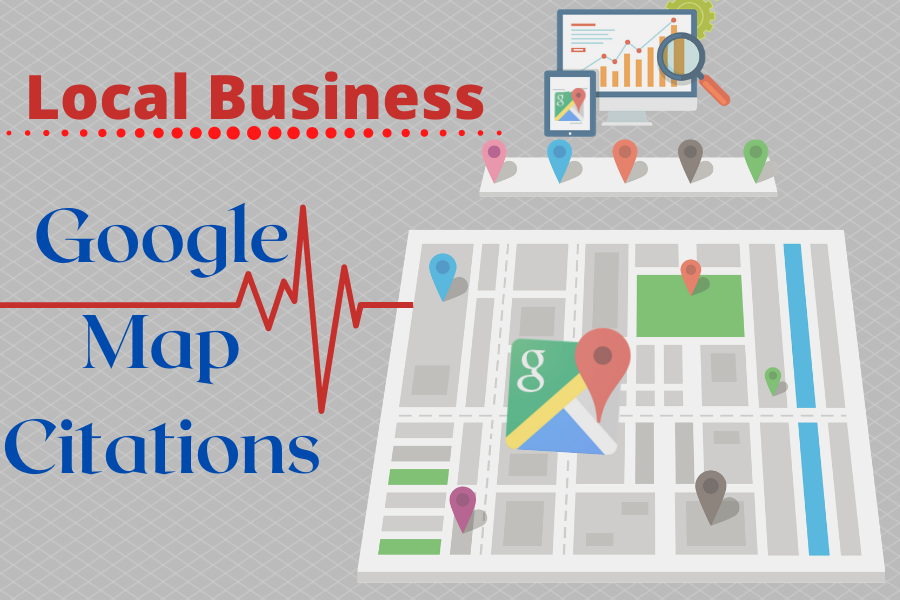 I will do Unique Google map citations manually for google search engine