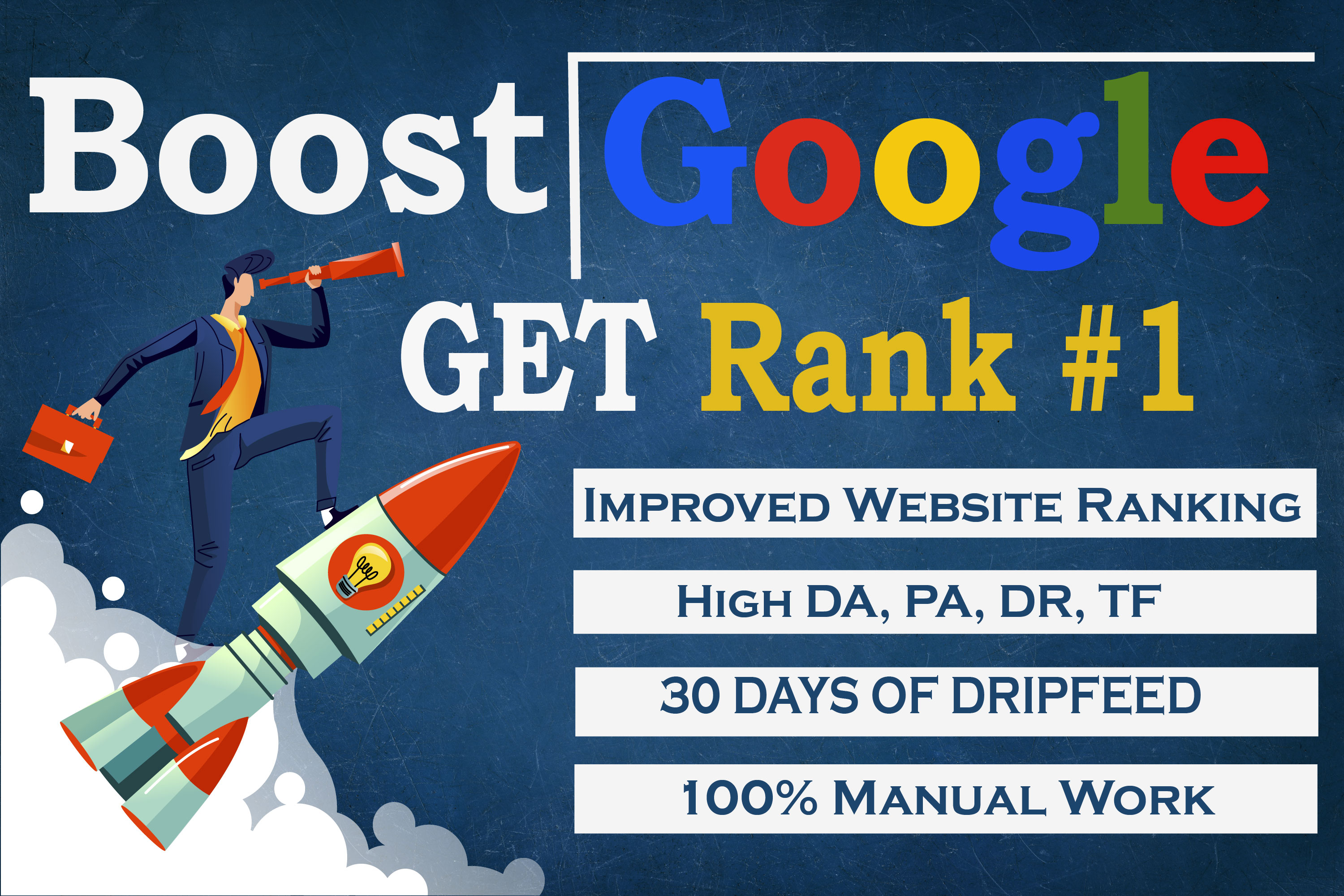 All in one monthly SEO package for boost your website Google Rank