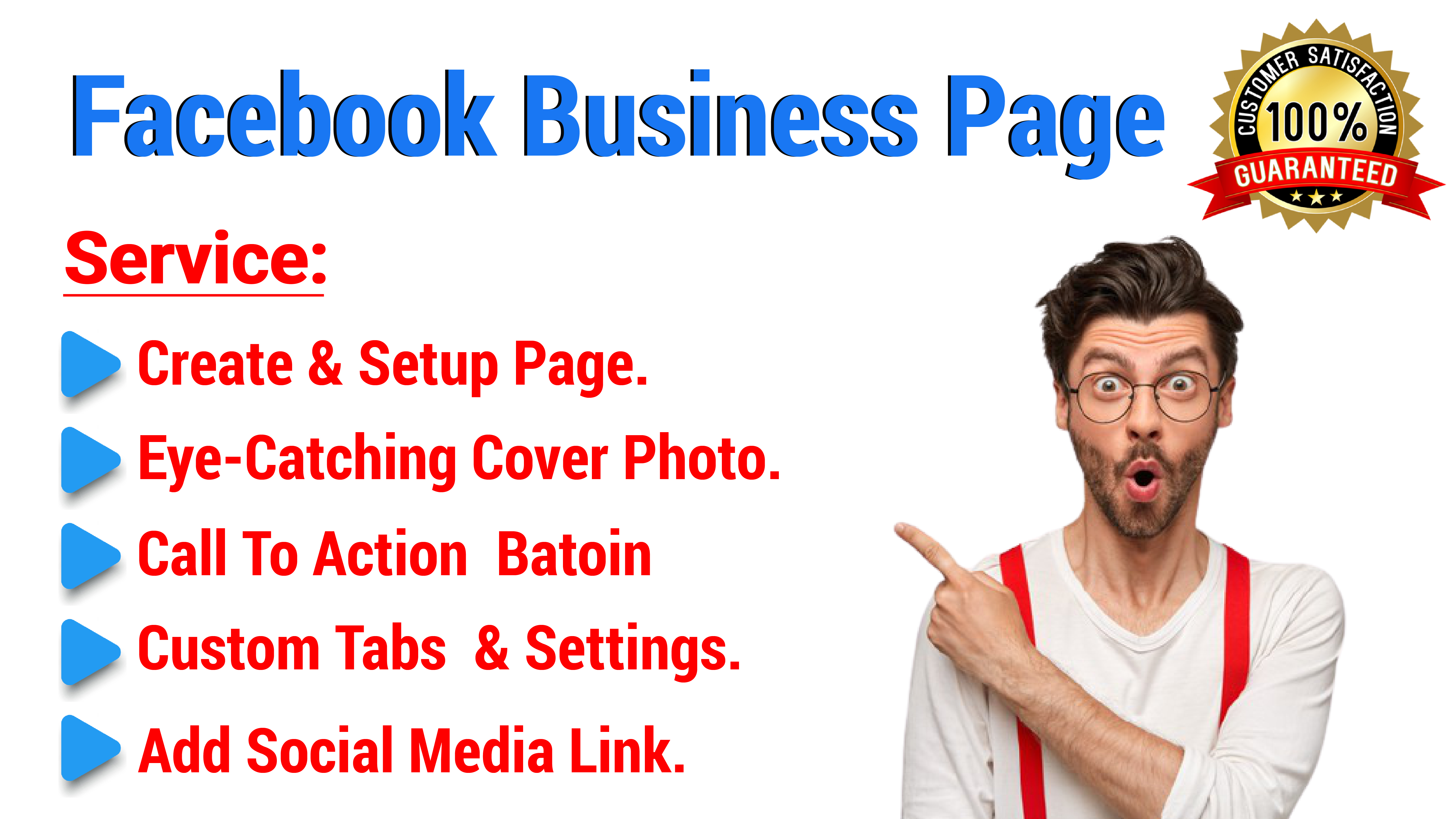 I will create,  and setup your Facebook business page