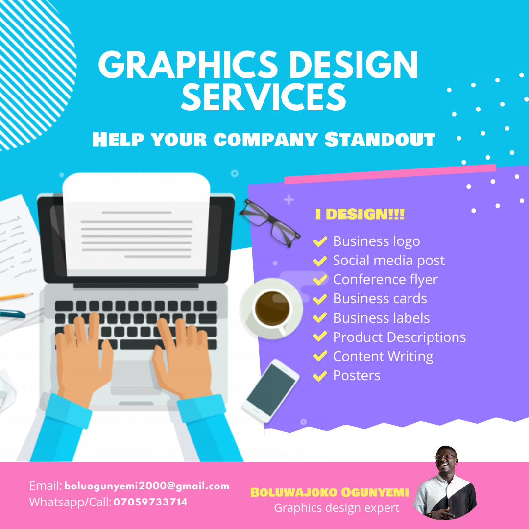 I will provide amazing graphic design services to boost online reach for your brand or organization