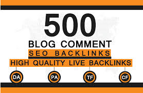 500 Unique Blog comments on High Da Pa And Low Obl Sites