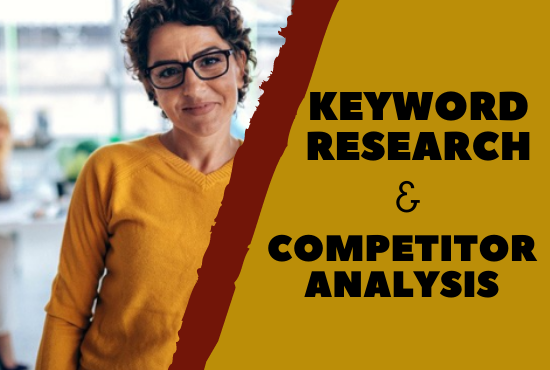 Best keyword research and competitor analysis under cheap price