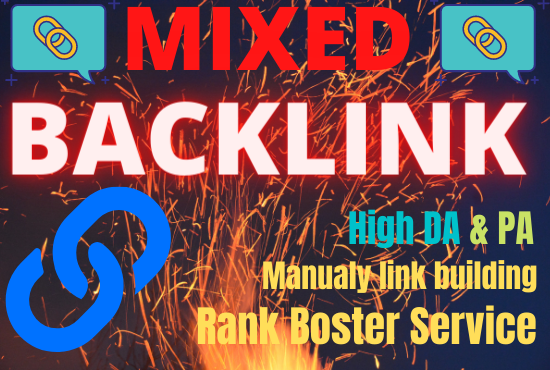 I Will create 20 high quality permanent mixed back links