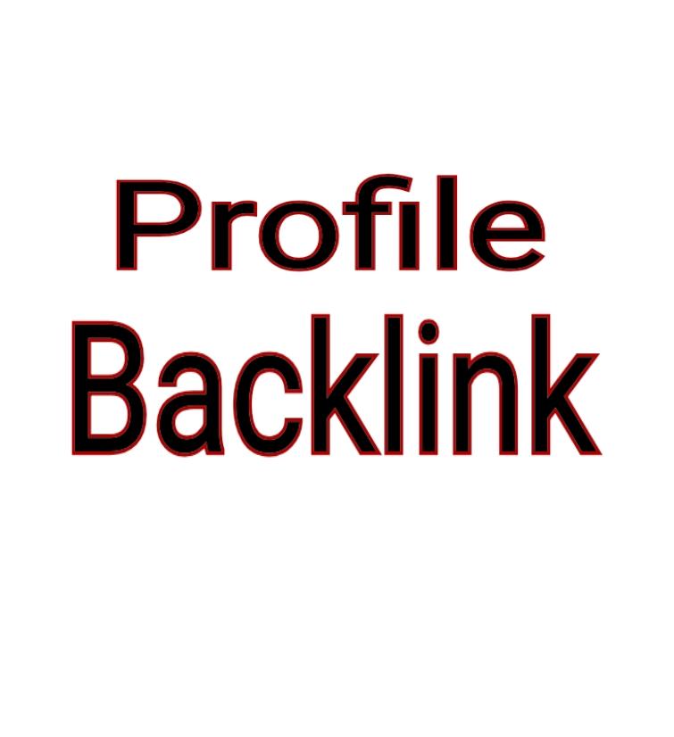High Quality 25 Profile Backlink DA 80+ PR 9-7