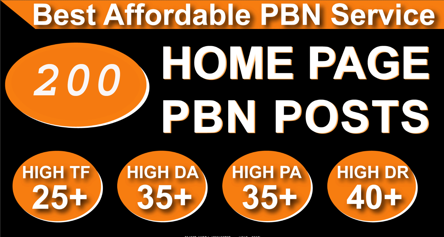 Homepage 200 PBN High FT 25 Plus DA35 PA35 TF40