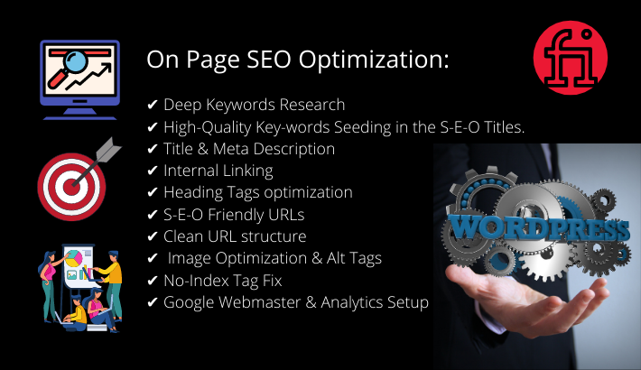 wordpress on page seo to rank your website in a short time