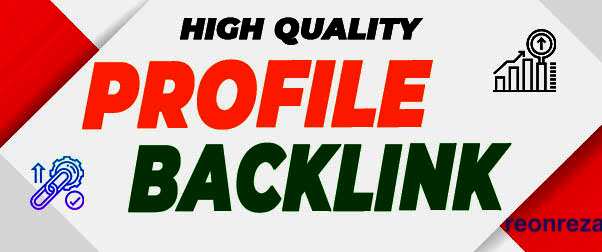 I will do 100 High Quality Dofollow Profile Backlinks for Google Top Ranking Seo
