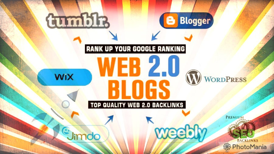I will create web 2.0 link wheel using top 30 blogs backlinks for Your Website Google Top Ranking