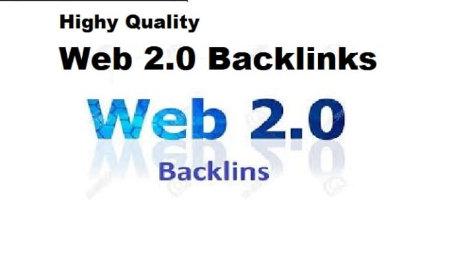 I will manually create 30 high-quality Web 2.0 backlinks for your website ranking