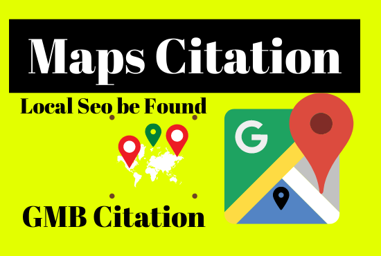 I will create 150 Maps citation create any place in whole world with your business information