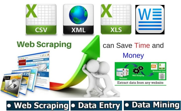 I will do fastest data entry,  scraping in one day,  internet research.