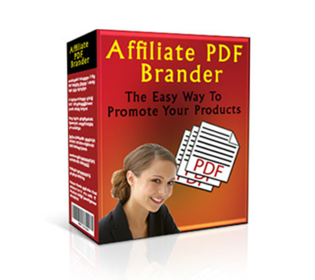 Affiliate PDF Brander Software The Easy Way