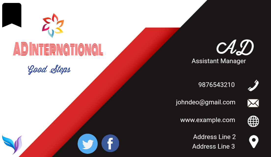 I will design world class digital and printed business card for your business