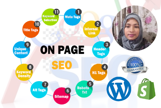 I will do advance on page and off page SEO for wordpress website