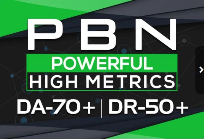 Build 5 HomePage Posts DA 70+ DR 50+ Plus PBNs