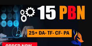 Create 15 High quality PA/DA TF/CF Homepage PBN Backlinks To Skyrocket you SERP