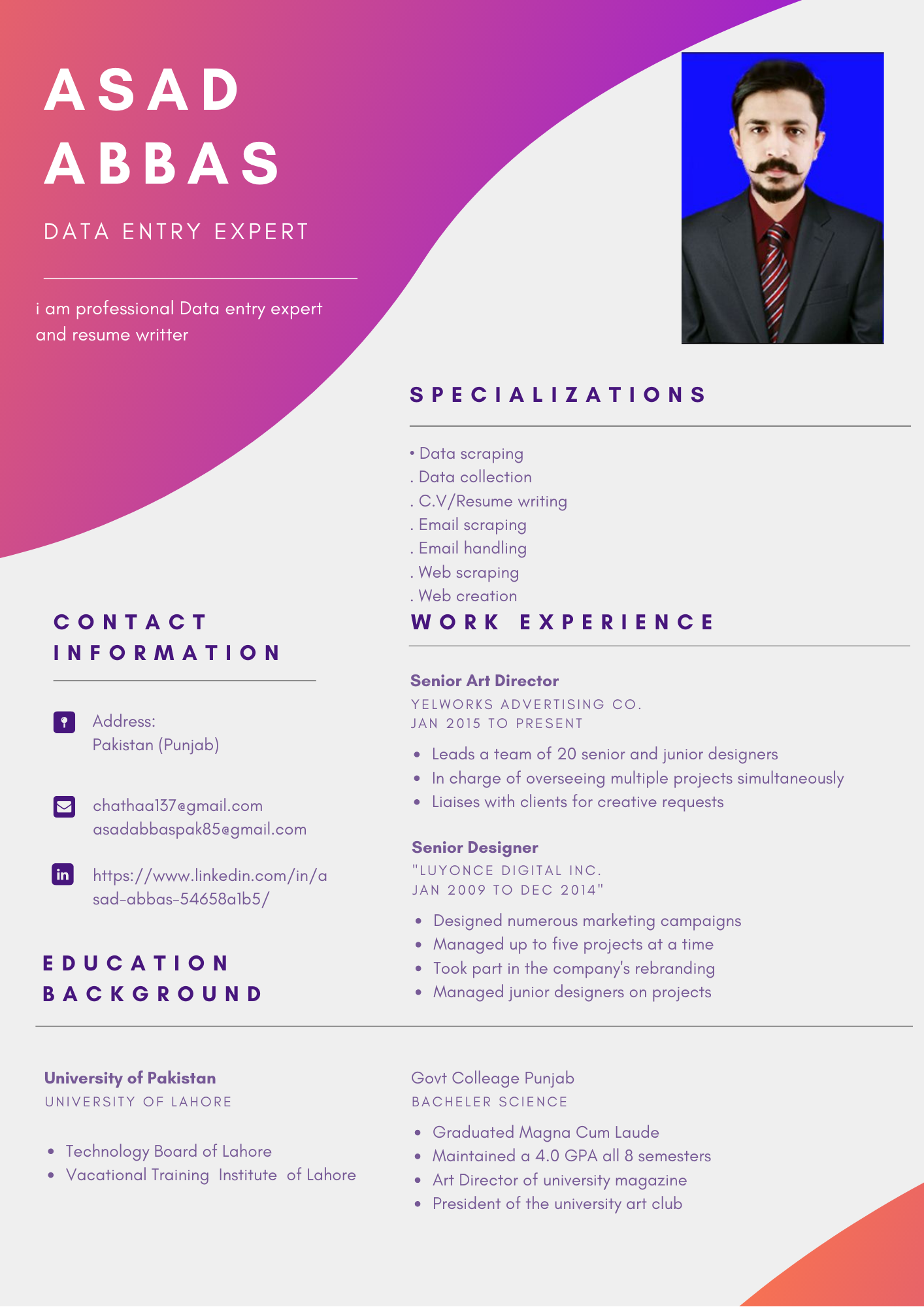 I will do edit and beautifully format your resume and cover letter