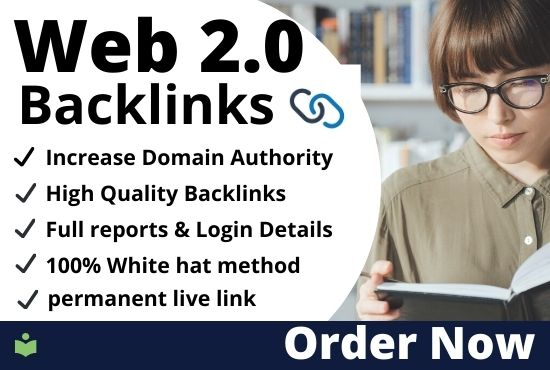 I will build google high authority Web 2.0 Backlinks