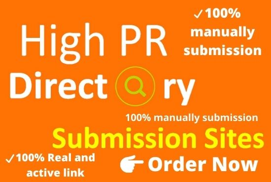 I Will Provide Manually 200 High Quality Directory Submission