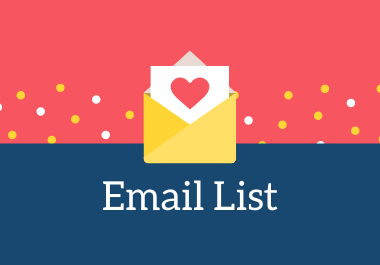 I Can Give you lead generation,  targeted email list and email marketing