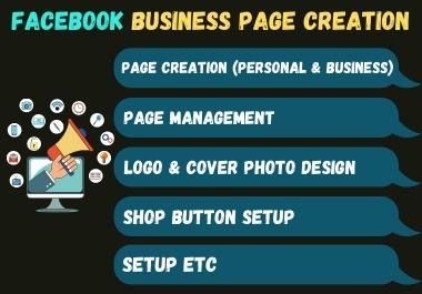 I Can Design & Create Facebook Business Page