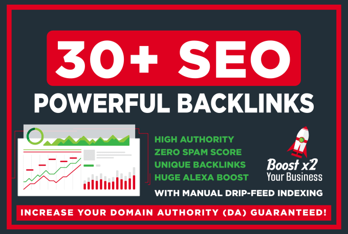 I will build 30 SEO high dr dofollow backlinks for top ranking on google