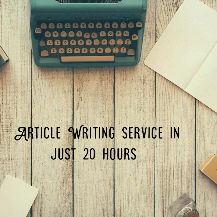 I Will Write 600 words Article/Content that is SEO Optimized and Unique on any topic