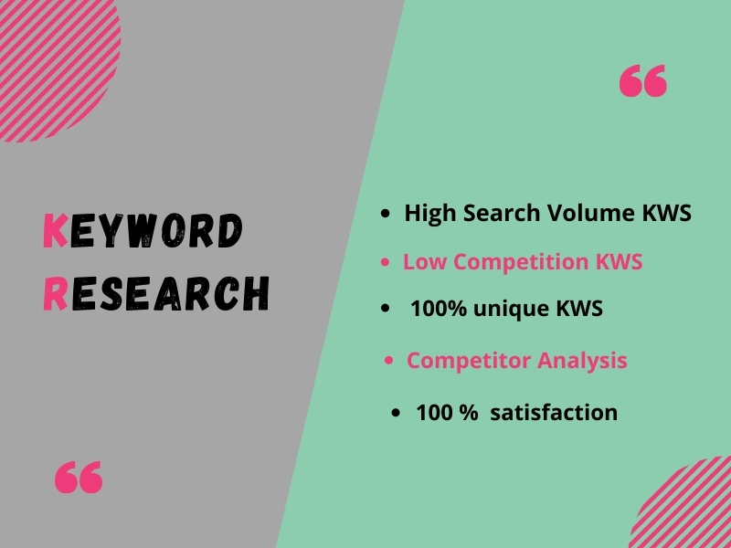 I will generate an SEO keyword research list to rank your site swift.
