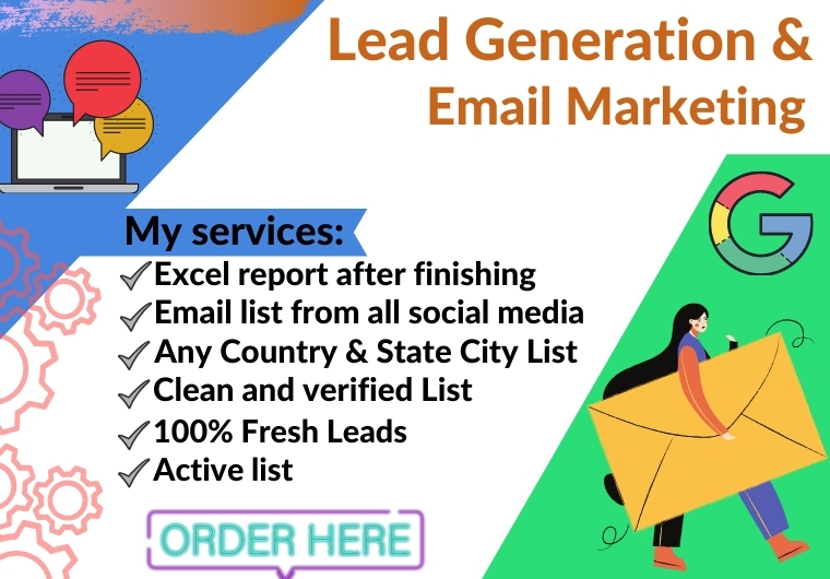 I will provide 5k verified email list for marketing