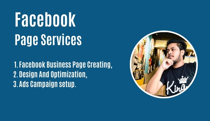 I will set up your Facebook page,  optimize,  and manage the Facebook advertising campaign