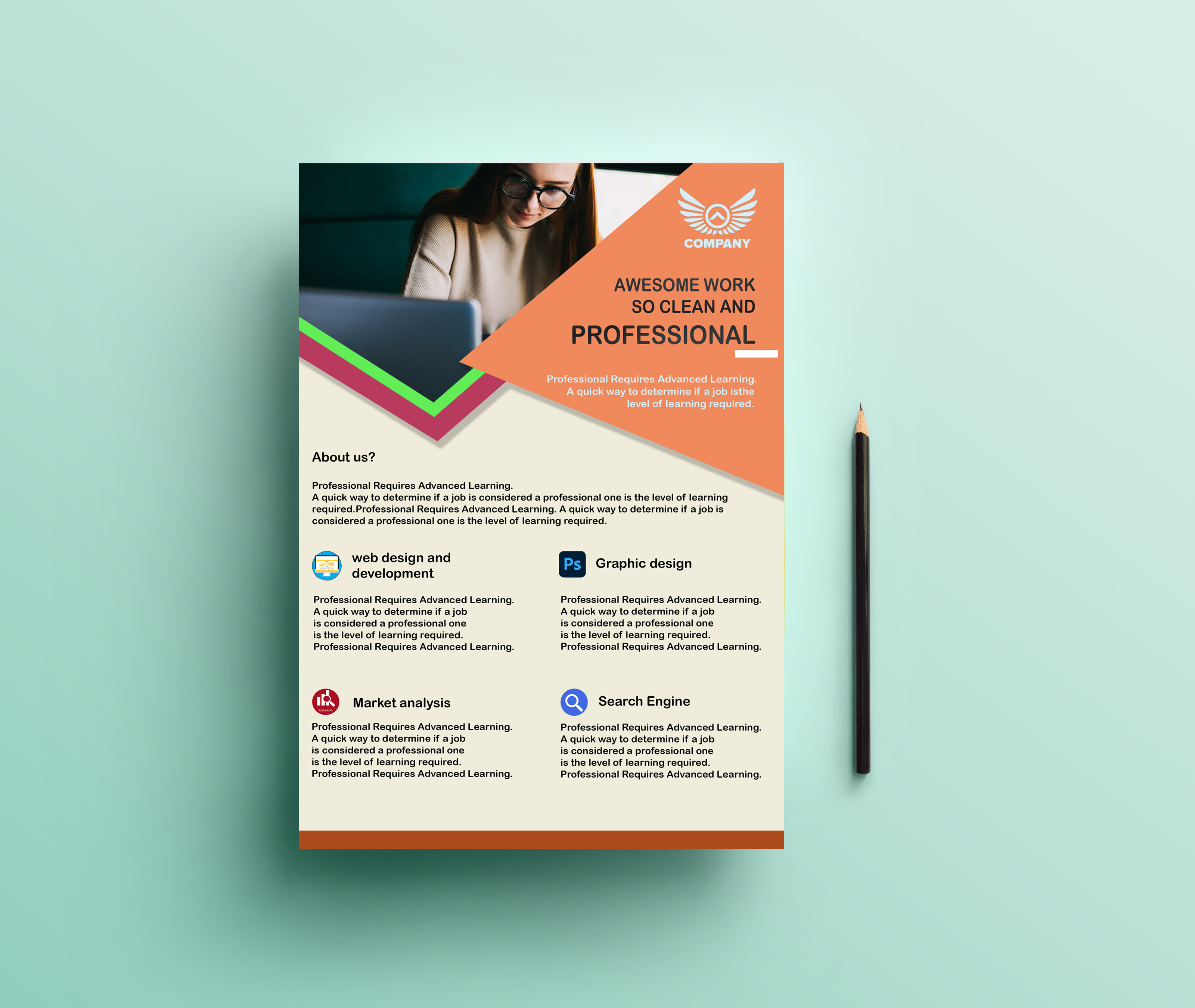 I will design perfect flyer for your business
