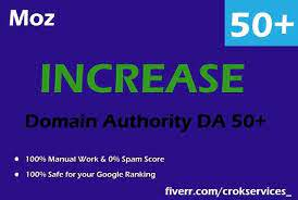 I will increase moz da to 50 in 30 days