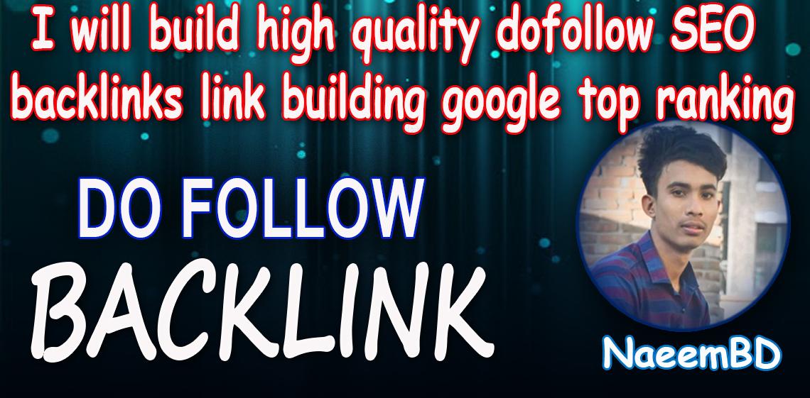 I will top quality dofollow SEO backlinks high da DR authority backlinks