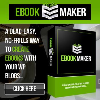 E-Book Maker Plugin - Create a e-book of all your blog or website information.