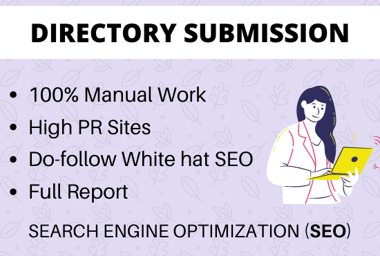 Do 50 powerful directory submission backlinks manually