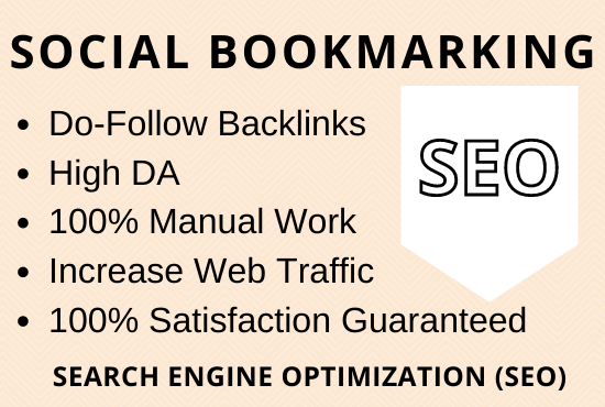 Do 50 Social Bookmarking Backlinks Manually