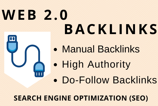 I will build 30 high authority web 2.0 backlinks